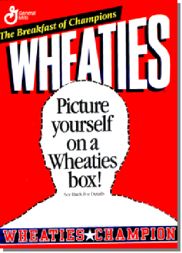Did you eat your wheaties