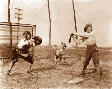 Baseball flourished during the Depression. It was cheap to play, it was fun at any skill level and it required no elaborate playing field or equipment.