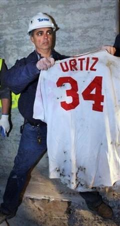 Ortiz Jersey Buried
