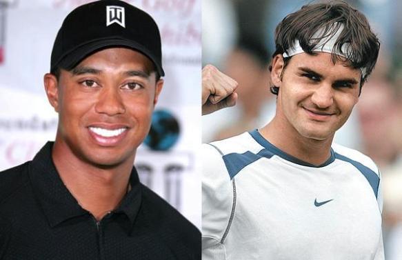 Tiger vs Federer