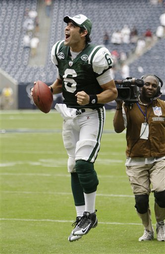 NY Jets vs. Washington Redskins, 24-7. Mark, a celebration well deserved. And only one big f-up!