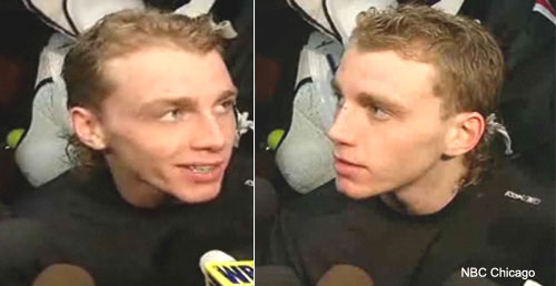 Patrick Kane Mullet Hairstyle Pictures