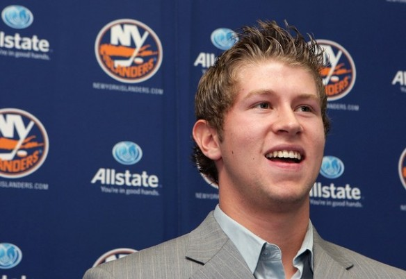 Islanders Sign First Round Pick Josh Bailey