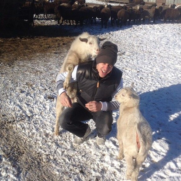 Evgeni Malkin Goats