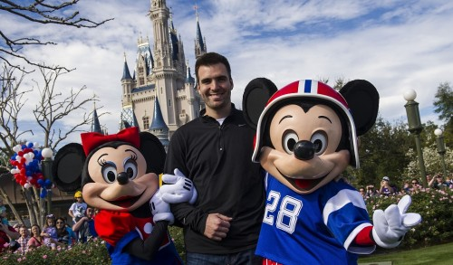 Joe Flacco Disney World