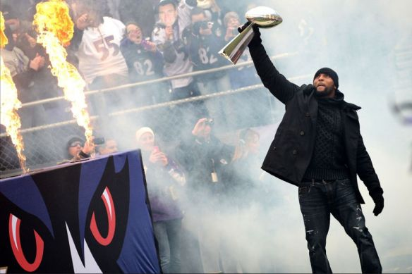 Ray Lewis Super Bowl Parade
