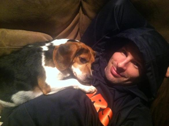 Troy Brouwer Puppy