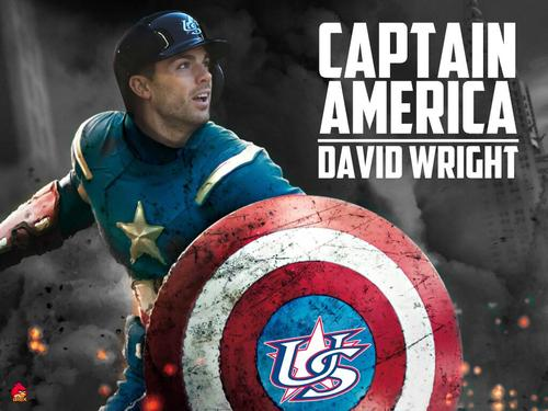 David Wright Captain America