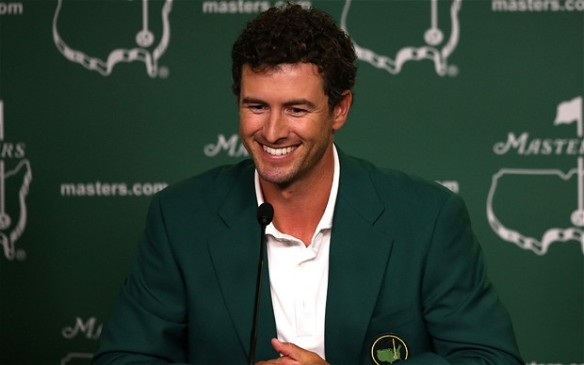 Adam Scott press conference