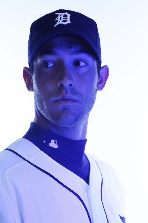Rick+Porcello+Detroit+Tigers+Photo+Day